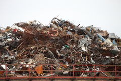 Industrieel afval Royalty-vrije Stock Afbeelding