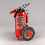 Industrieel brandblusapparaat op lichte achtergrond Royalty-vrije Stock Afbeeldingen