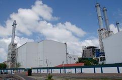 Industrieel deel van stad mannetje Stock Foto's