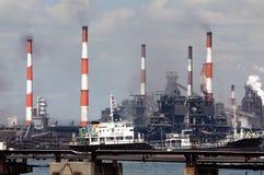 Industrieel district Royalty-vrije Stock Afbeelding