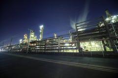 Industrieel district Stock Foto's