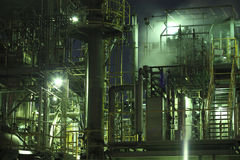 Industrieel district Stock Afbeeldingen