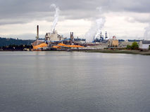 Industrieel District Royalty-vrije Stock Foto