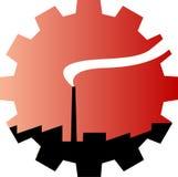Industrieel embleem Royalty-vrije Stock Foto's