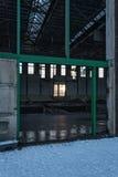 Industrieel erfgoed. An abandoned old munitions factory in Zaandam Stock Photo