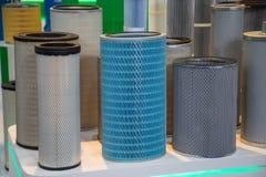 Industrieel filterproduct stock afbeeldingen