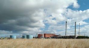 Industrieel gebouw royalty-vrije stock afbeelding