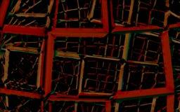 Industrieel Gekleurd Abstract Behang Als achtergrond | Royalty-vrije Stock Fotografie