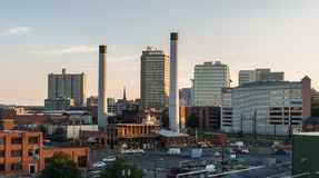 Industrieel Harrisburg Stock Foto