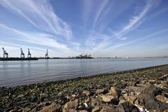 Industrieel landschap Stock Fotografie