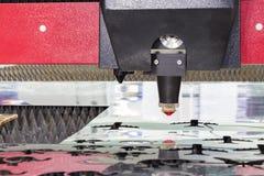 Industrieel laser scherp hoofd Royalty-vrije Stock Afbeelding