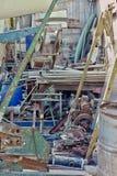 Industrieel Metaalschroot stock afbeelding
