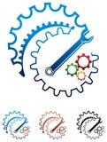 Industrieel ontwerp royalty-vrije illustratie