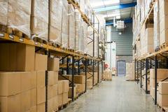 Industrieel pakhuis Stock Afbeeldingen