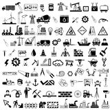 Industrieel pictogram royalty-vrije illustratie