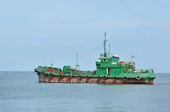 Industrieel proefschip stock foto's