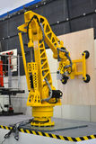 Industrieel robotwapen Royalty-vrije Stock Foto's