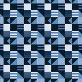 Industrieel symmetrie naadloos patroon royalty-vrije illustratie
