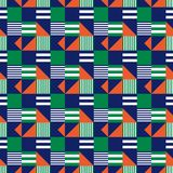 Industrieel symmetrie naadloos patroon vector illustratie
