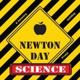 Industrieel teken Newton Day Stock Fotografie