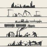 Industrieel thema vector illustratie