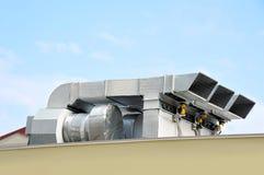 Industrieel ventilatiesysteem Royalty-vrije Stock Afbeelding