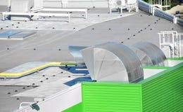 Industrieel ventilatiesysteem Royalty-vrije Stock Afbeeldingen