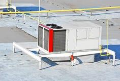 Industrieel ventilatiesysteem Stock Afbeelding