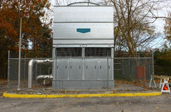 industrieel warmtepompAC systeem stock afbeelding