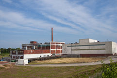 Industriegebäude. Lizenzfreies Stockbild