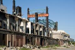 Industriegebäude lizenzfreie stockfotos