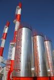 Industriegebäude - Triebwerkanlage Lizenzfreies Stockbild