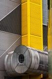 Industriegebäude Äußeres Stockfoto