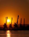 Industriehafen lizenzfreie stockbilder