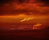 Industriekomplex Stockfotos