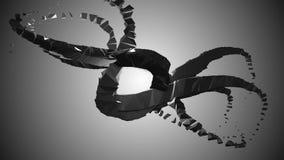 industriell abstraktion 3D Fotografering för Bildbyråer