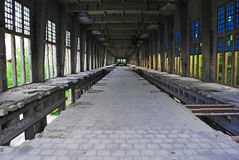 industriell arkeologi Arkivbild