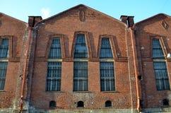 Industriell arkitektur av St Petersburg Royaltyfria Bilder
