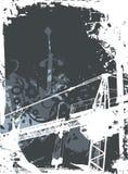 industriell bakgrund Arkivfoto