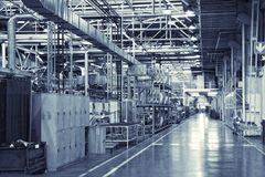 industriell bakgrund Royaltyfria Foton