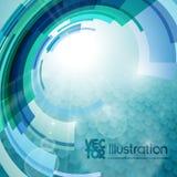 Industriell bakgrund för vektor Stock Illustrationer