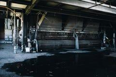 Industriell bearbeitet - verlassene Kohleenergie-Anlage - New York maschinell stockbilder