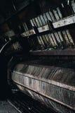 Industriell bearbeitet - verlassene Kohleenergie-Anlage - New York maschinell lizenzfreie stockfotografie
