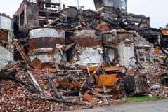 Industriell brand 0682 arkivbild