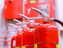 Industriell brand - släckningssystem fotografering för bildbyråer