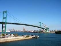 industriell bro royaltyfria bilder