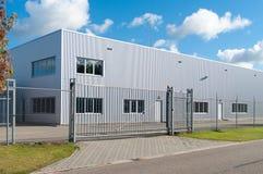 Industriell byggnad arkivbild