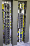 Industriell elektrisk cubicle Royaltyfri Fotografi