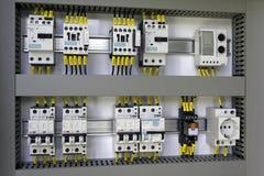 Industriell elektrisk utrustning royaltyfria bilder