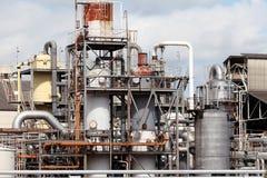 industriell fabrik Royaltyfri Fotografi